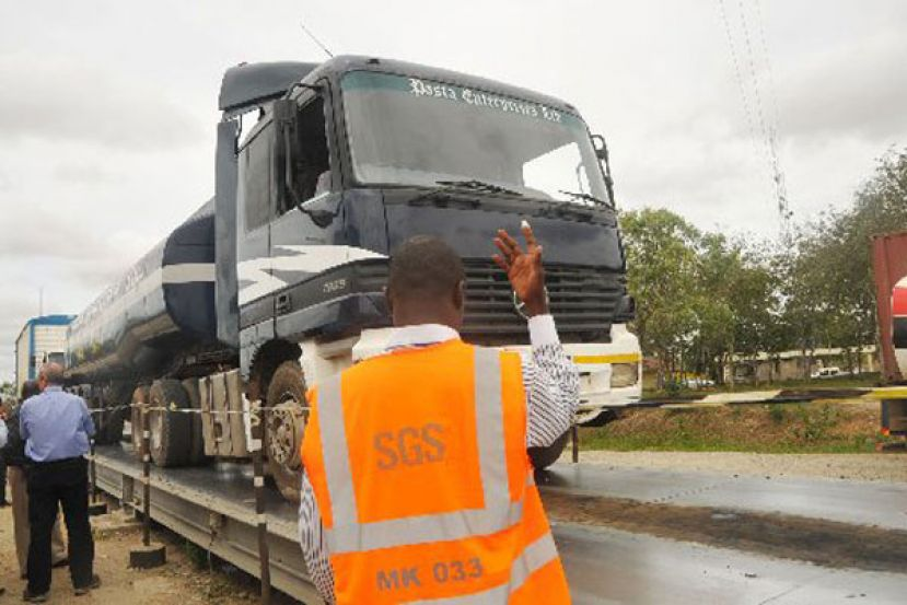 Truck owners protest over transport taxes
